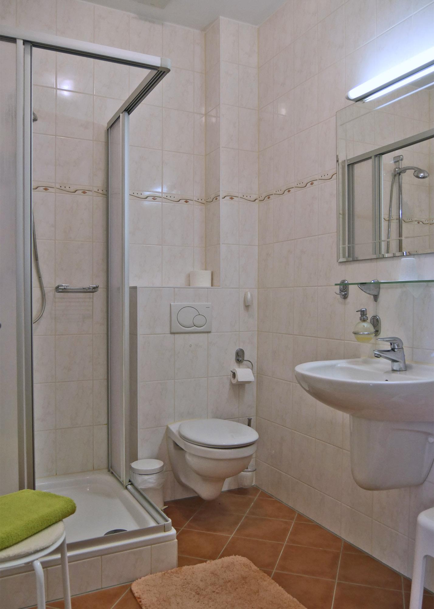 Badezimmer Appartement Tatra