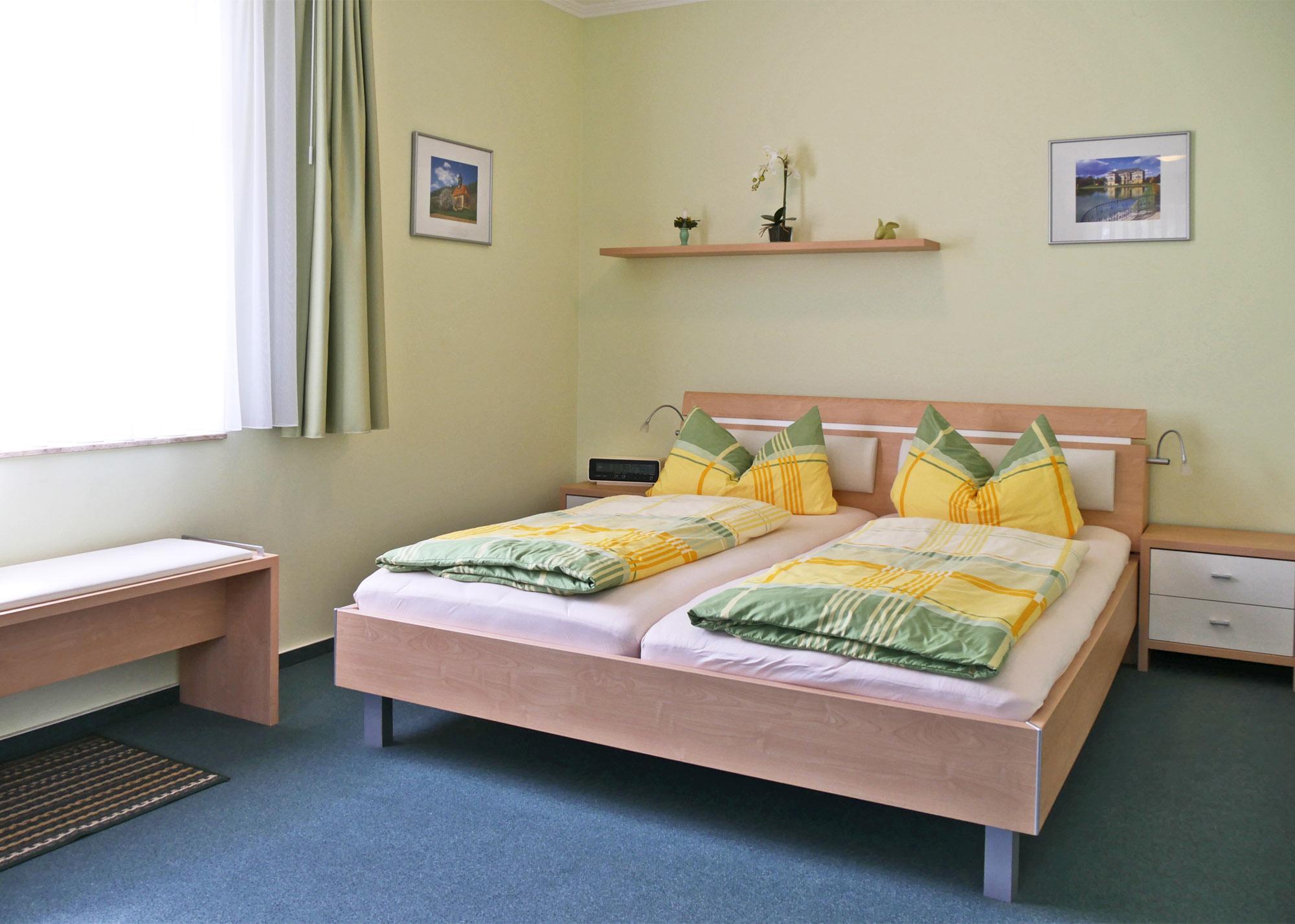 Schlafbereich Appartement Skoda