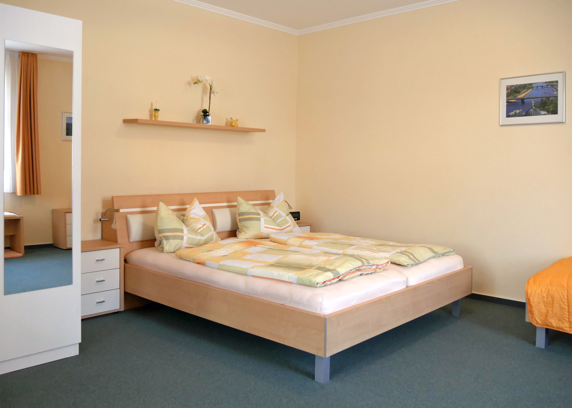 Doppelbett - Appartement Tatra