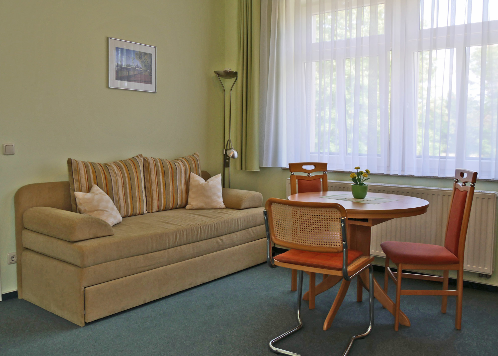 Sitzecke Appartement Skoda