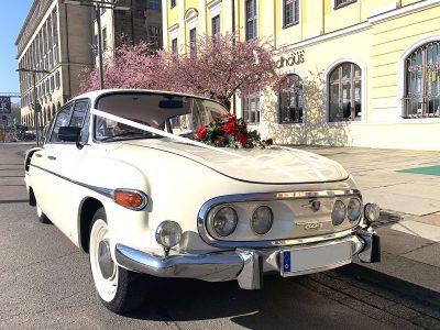 Tatra 603 - Oldtimervermietung für Hochzeiten