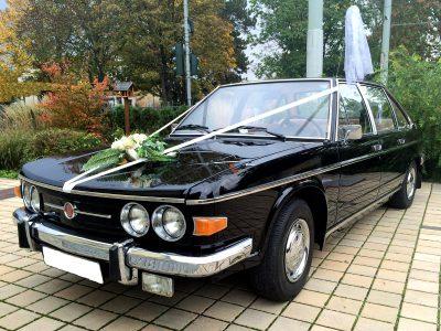 Tatra 613 - Oldtimervermietung für Feiern