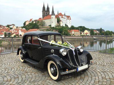 Tatra 75 - Oldtimervermietung für Hochzeiten