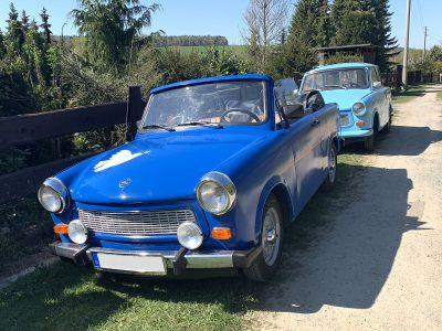 Vermietung Trabant 601 Cabrio und Limosine