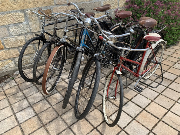 Fahrradausleihe Oldtimerfahrrädern